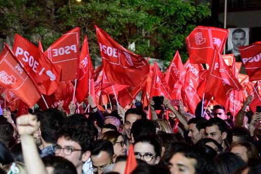 Seguidores PSOE