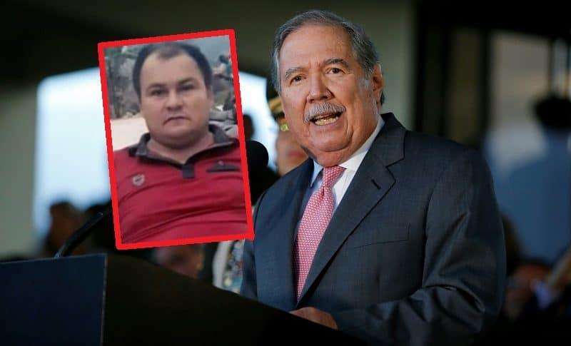 Dimar Torres y Guillermo Botero, ministro de Defensa