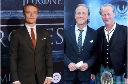 Alfie Allen / Ben Crompton y IainGlen, de 'Game of Thrones'