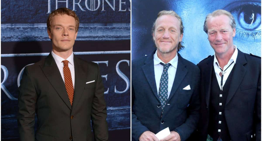 Alfie Allen / Ben Crompton y IainGlen, de 'Game of Thrones'