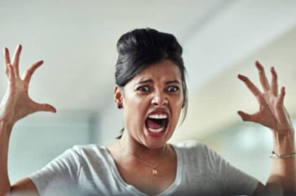 Mujer furiosa