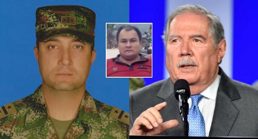 General Diego Villegas, Dimar Torres y Guillermo Botero