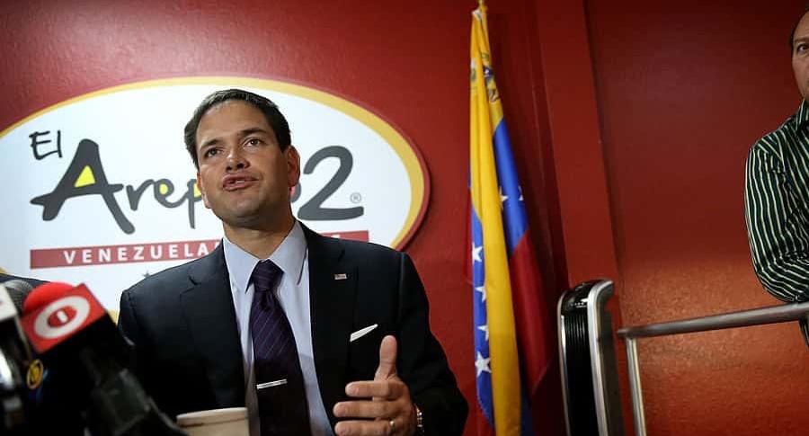 Marco Rubio sobre Venezuela