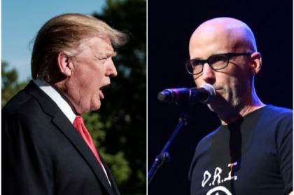 Donald Trump y Moby
