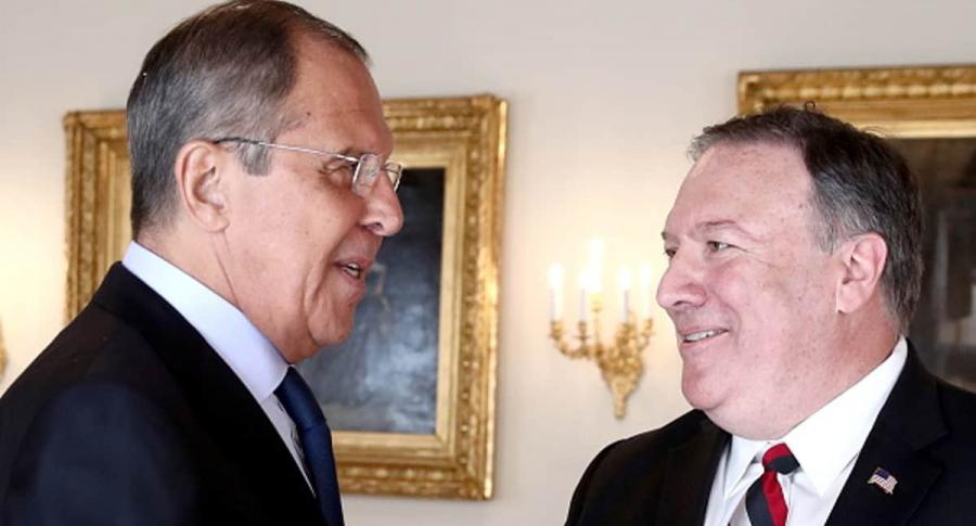 Pompeo y Lavrov