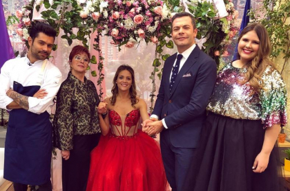 Juan Diego Vanegas, Yaneth Waldman, Ángela Cardozo, Iván Lalinde y Marcela McCausland