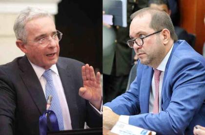 Álvaro Uribe y Lidio García