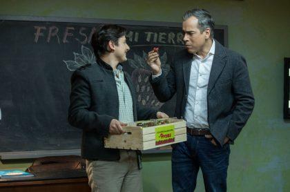 Ernesto Ballén y Jorge Enrique Abello, actores.