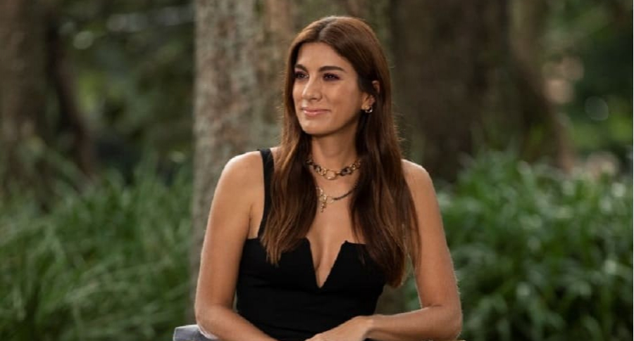 Andrea Serna, presentadora.