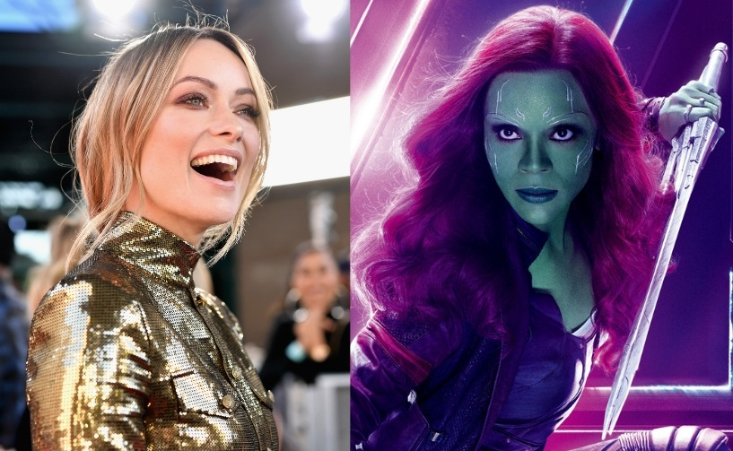 Olivia Wilde y Gamora