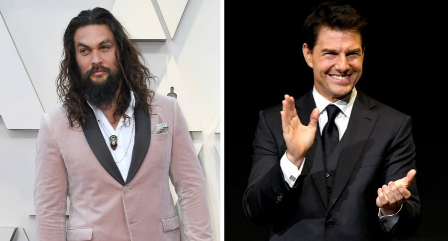 Jason Momoa y Tom Cruise