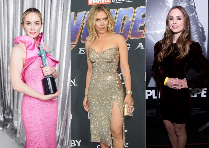 Emily Blunt, Scarlett Johansson y Eliza Dushku