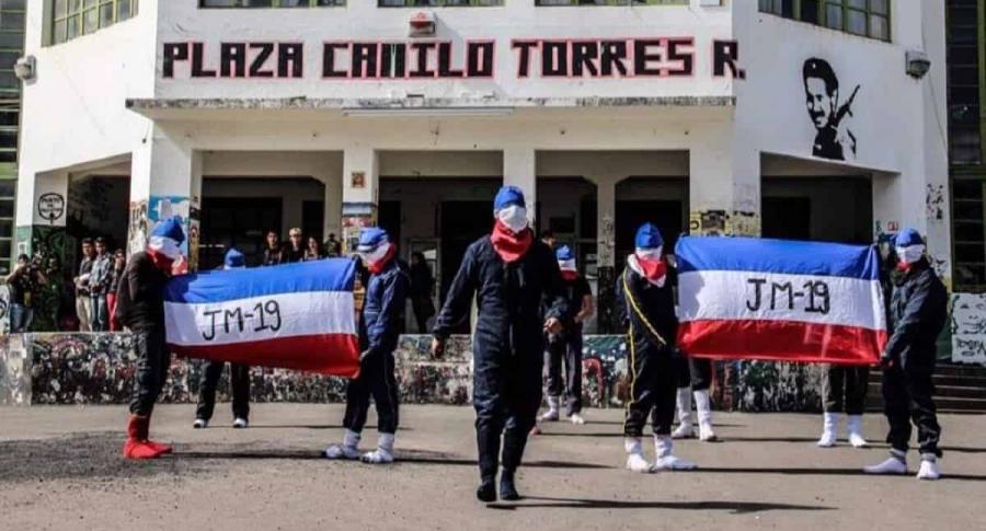 Encapurchados en la Universidad del Cauca