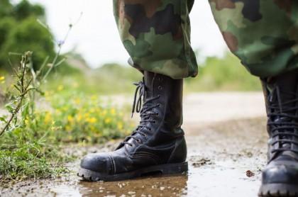 Botas de militar