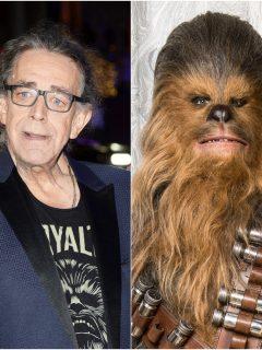 Peter Meyhew y Chewbacca