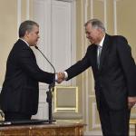 Iván Duque y Alejandro Ordóñez