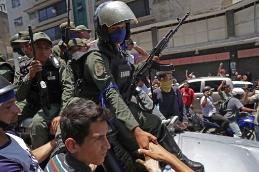 Militar venezolano en contra de Maduro