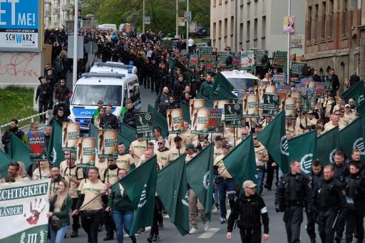 Marcha Neonazi en Alemania
