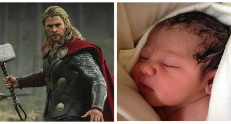 Thor y bebé