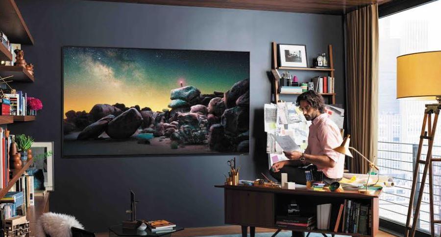 Televisor de Samsung 8K