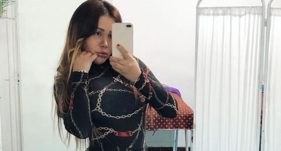 Yina Calderón, exprotagonista de novela.