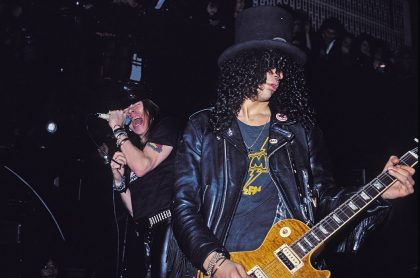 Axl Rose y Slash, de Guns N' Roses