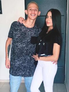 'La liendra' y Luisa Castro