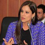 Maritza Martínez, senadora del partido de La U.