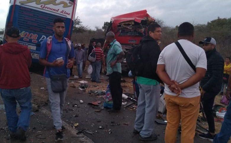 Grave accidente en la vía Maicao - Riohacha