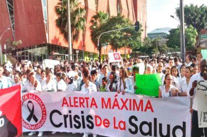 Protestas al sistema de salud