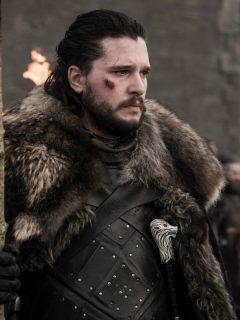 Kit Harington en el papel de Jon Snow de 'Game of Thrones'