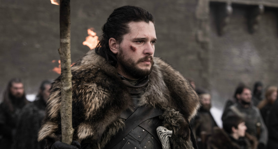 Kit Harington en el papel de Jon Snow de 'Game of Thrones'