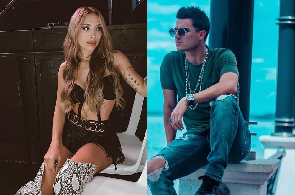Luisa Fernanda W, 'youtuber', y Pipe Bueno, cantante.