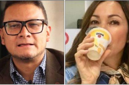 Fabián Sanabria y Darcy Quinn