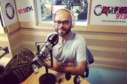 Carlos Vargas, presentador.