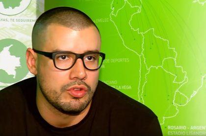 Felipe Ospina, barrista de Nacional