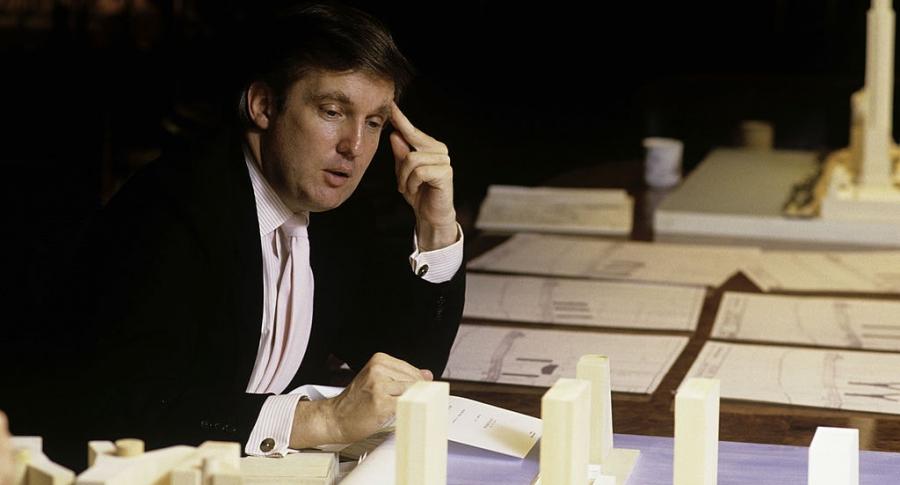 Donald Trump joven