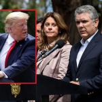 Donald Trump, Marta Lucía Ramírez e Iván Duque