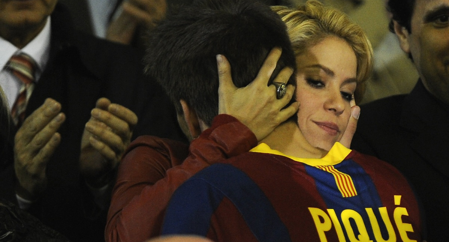 Shakira, cantante, y Gerard Piqué, futbolista.