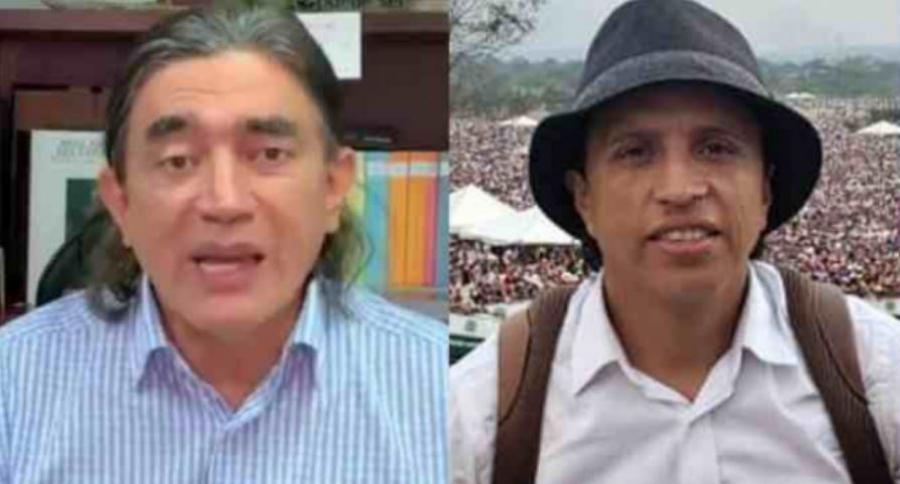 Gustavo Bolívar y Jonatan Tamayo 'Manguito'