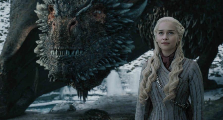 Emilia Clarke en su papel de Daenerys Targaryen en 'Game of Thrones'