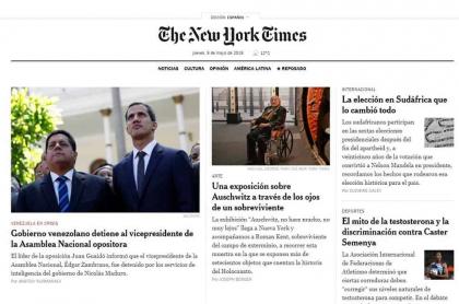 Home de The New York Times