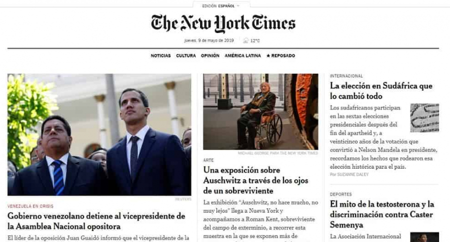 Home de The New York Times