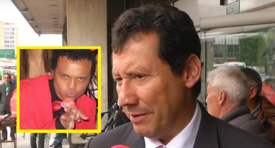 Luis Andrés Colmenares y Jaime Lombana, abogado de la familia Colmenares