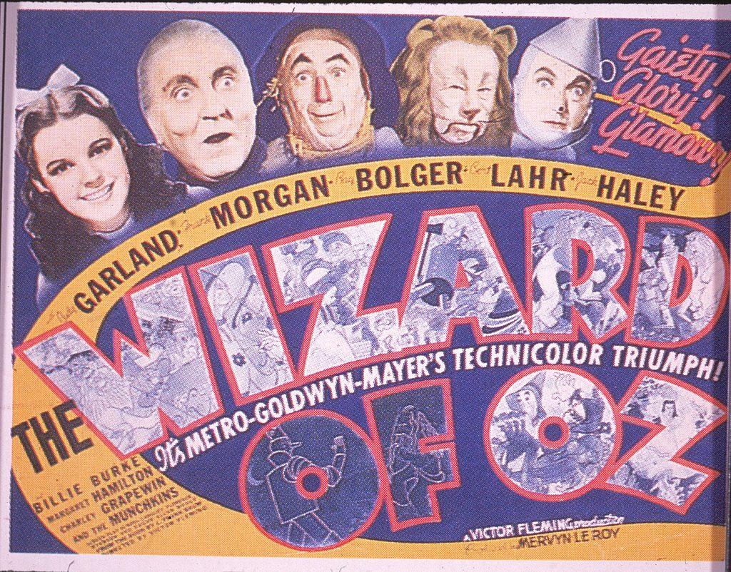 Afiche de 'El mago de Oz'