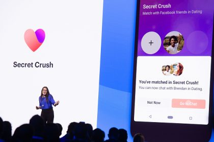 Secret Crush de Facebook