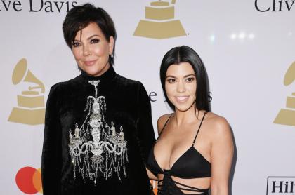 Kris Jenner y Kourtney Kardashian