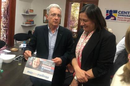 Ángela Garzón, candidata del Centro Democrático