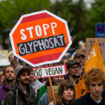 Protesta contra glifosato