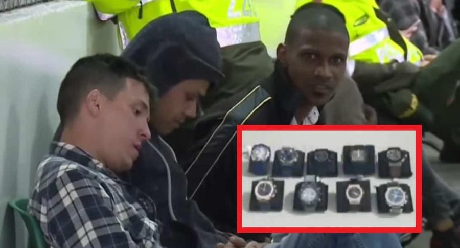 Ciudadanos venezolanos, que robaron joyería de Unicentro